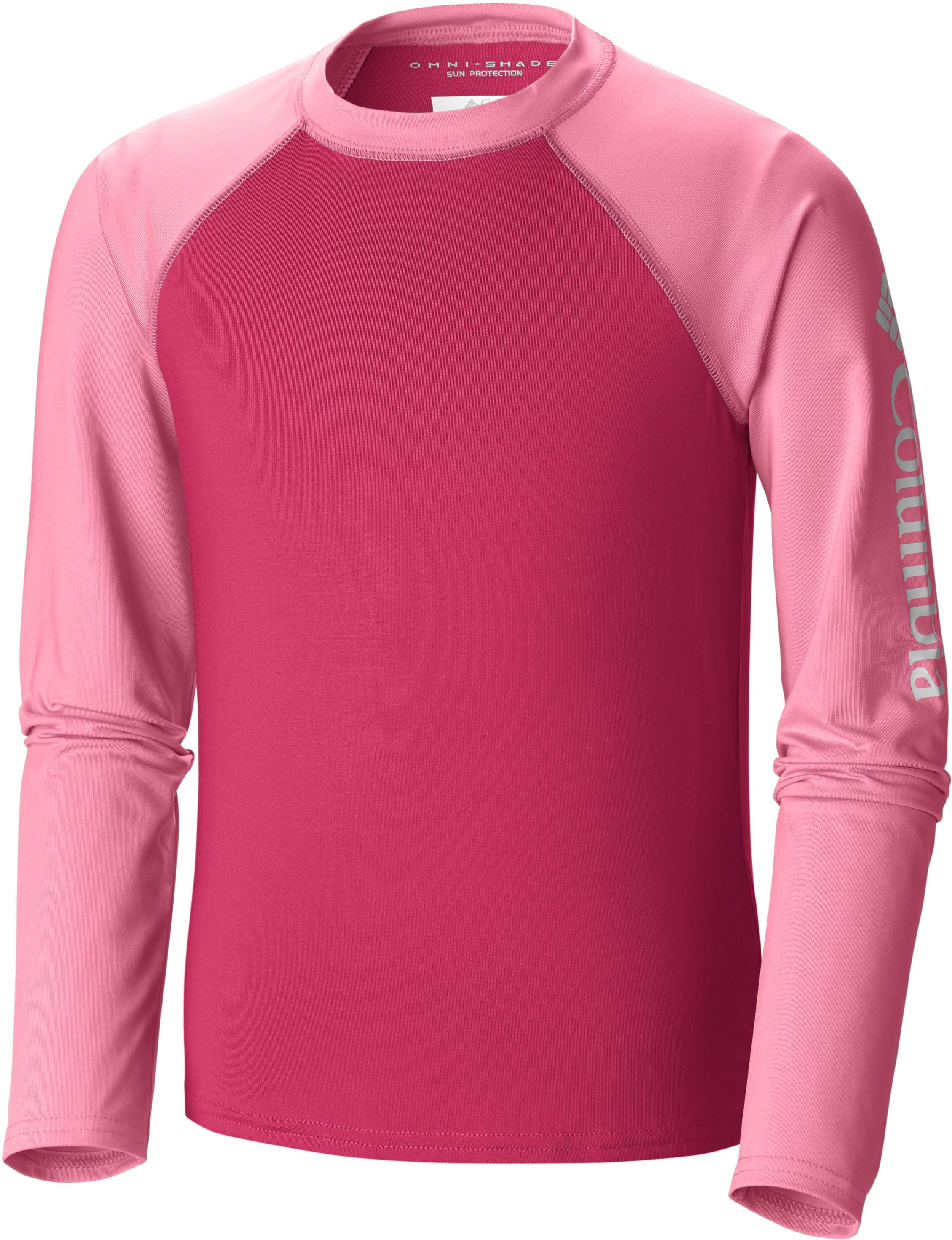 purchase cheap e9b23 5f6f4 Columbia Mini Breaker Maglietta a maniche lunghe Ragazza, punch  pink/lollipop